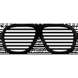 West Coast Best Coast Elements - Rubber Sunglasses
