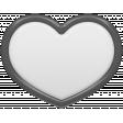 Templates Grab Bag Kit 18 - Heart Flair Template