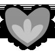 Templates Grab Bag Kit 18 - Scalloped Heart Template