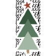 The Good Life - December Elements - Sticker Tree 3