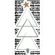 The Good Life - December Elements - Sticker Tree 1