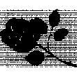SciFi Stamps - Flower 1 Stamp