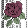 SciFi Elements - Sticker Rose 2