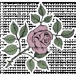 SciFi Elements - Sticker Rose 1