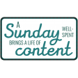 The Good Life - January 2019 - Word Art Tag This Sunday Content