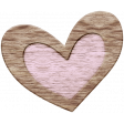 The Good Life: February Elements - Wooden Heart 1