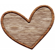 The Good Life: February Elements - Wooden Heart 2