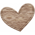 The Good Life: February Elements - Wooden Heart 3