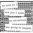 Desert Spring Elements: word strips - adventure