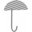 Umbrella Weather Stamps - Umbrella 2 Stamp