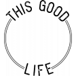 The Good Life: March Stamps - This Good Life Circle Stamp