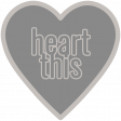 Templates Grab Bag Kit # 21 - Heart 2 Text Template