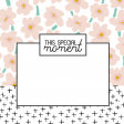 The Good Life: March 2019 Journal Me Kit - special moment template 4x4