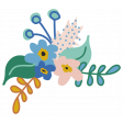 The Good Life - March 2019 Elements - Sticker Bouquet