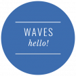 The Good Life - March 2019 - Beach Words and Tags - Tag Waves Hello