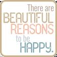 The Good Life: May 2019 Words & Tags Kit - beautiful reasons 2