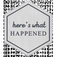 The Good Life: June 2019 Mini Kit - Vellum Here's What Happened