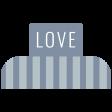 1000 Words & Tags Kit: Tag love