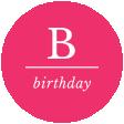 Birthday Words & Tags Kit: birthday 2