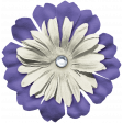 Birthday Elements Kit #2 - flower layered 17