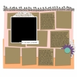 Layout Templates Kit #46 - Template 46a