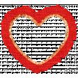Challenged Elements Kit #2 - Burlap Heart