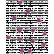 The Good Life: September 2019 Mini Kit - heart scatter purple