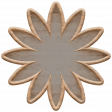Templates Grab Bag Kit #23: wood flower template