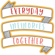 The Good Life: October 2019 Words & Labels Kit - everyday memories together