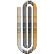 October 31 Elements Kit - plaid paper clip
