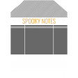 October 31 Words & Labels Kit: oct 31 spooky notes tag 1