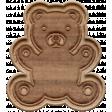 The Good Life - October 2019 Elements - Wood Teddy Bear