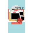 Travelers Notebook Layout Templates - Kit #1 - Template 01B