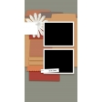 Travelers Notebook Layout Templates Kit #2: Template 2d