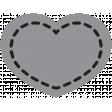 Templates Grab Bag Kit #28 - Shape heart 1