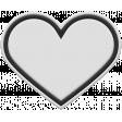 Templates Grab Bag Kit #28 - Rubber heart 2