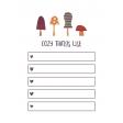 The Good Life: November 2019 Pocket Cards Kit - cozy things list 3x4