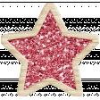 The Good Life: December 2019 Christmas Elements Kit - glitter star red