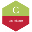 The Good Life: December 2019 Christmas Labels & Words Kit - label christmas 3