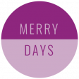 The Good Life: December 2019 Christmas Labels & Words Kit - label merry days