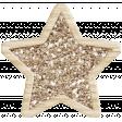 The Good Life - December 2019 Elements - Glitter Star Gold 2