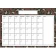 The Good Life: January 2020 Calendars Kit - 2 Calendar A4 blank