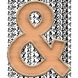 The Good Life: January 2020 Elements Kit - ampersand orange