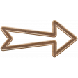 The Good Life: January 2020 Elements Kit - arrow brown