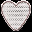 The Good Life: January 2020 Mini Kit - embroidered heart 2