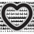 Templates Grab Bag Kit #29 Shapes - heart