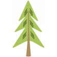 The Good Life - December 2019 Tags & Stickers - Tree 1