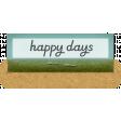 Clear Tabs Kit: clear tab - happy days