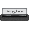 Clear Tabs Kit: clear tab - happy here