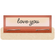 Clear Tabs Kit: clear tab - love you